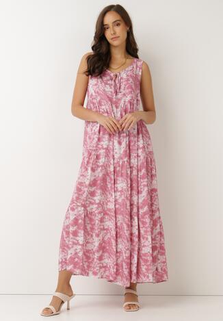 Różowa Sukienka Olyndia