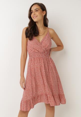 Łososiowa Sukienka Agalena
