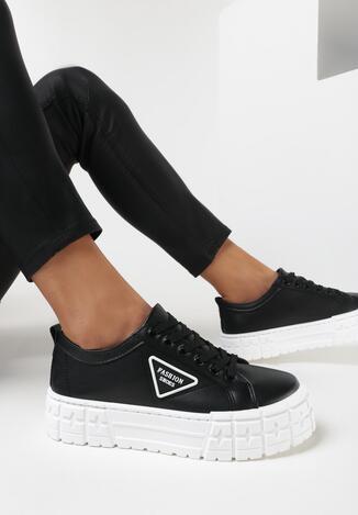Czarne Sneakersy Armys