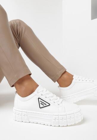 Białe Sneakersy Armys