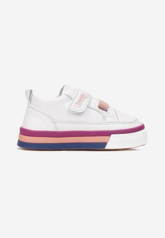 Biało-Różowe Buty Sportowe Deiaxe