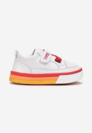 Biało-Czerwone Buty Sportowe Deiaxe