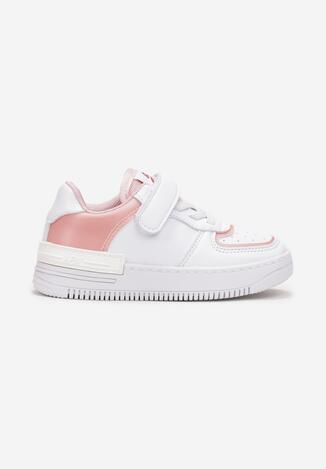 Biało-Różowe Buty Sportowe Kavurenn