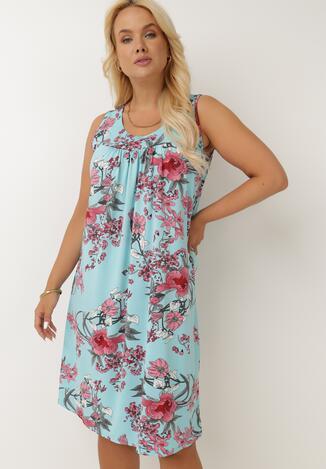 Jasnoniebieska Sukienka Zevime