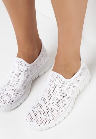 Białe Buty Sportowe Mariga
