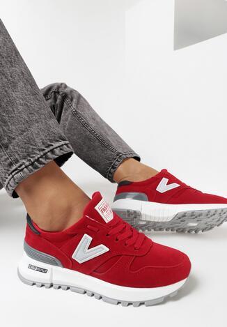 Czerwone Buty Sportowe Wuenrowen