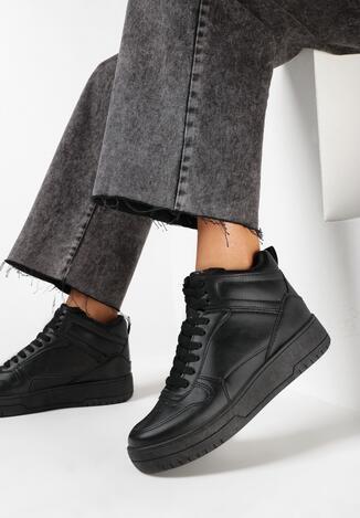Czarne Sneakersy Zyancy