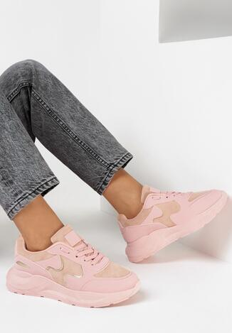 Różowe Sneakersy Keiro