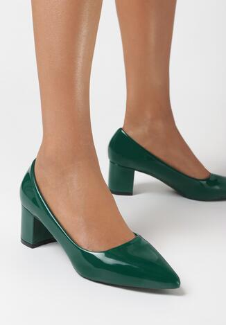 Zielone Czółenka Thorpe
