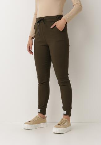 Ciemnozielone Spodnie Phrilira