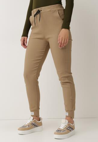 Beżowe Spodnie Phrilira