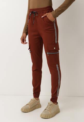 Brązowe Spodnie Welewen