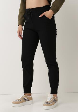 Czarne Spodnie Dresowe Jenefer