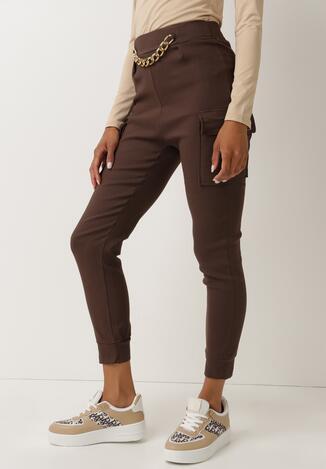 Brązowe Spodnie Nesrec