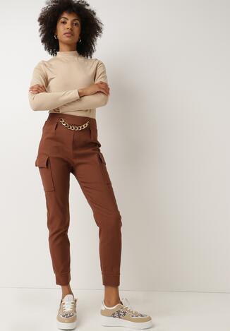 Camelowe Spodnie Nesrec