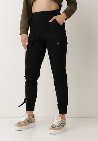 Czarne Spodnie Ymon
