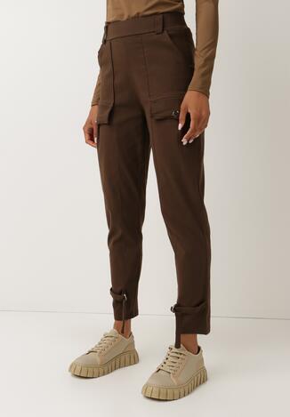 Brązowe Spodnie Ymon