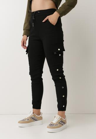 Czarne Spodnie Dresowe Demeguetel