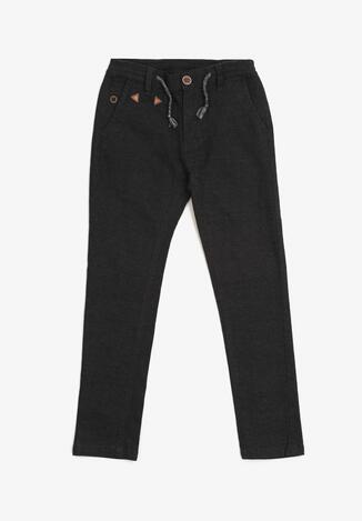 Czarne Spodnie Karephelia