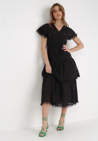 Czarna Sukienka Nevarde