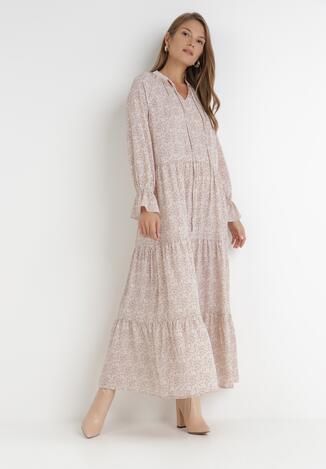 Jasnoróżowa Sukienka Physaphaia