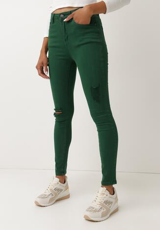 Zielone Spodnie Elunei