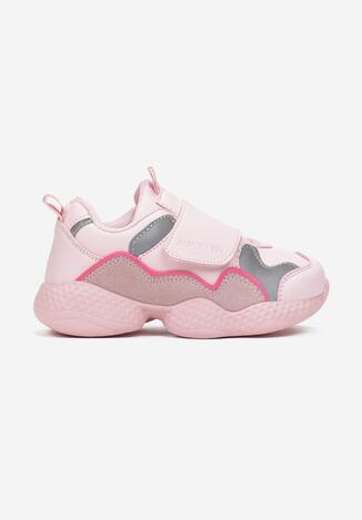 Różowe Buty Sportowe Galinia