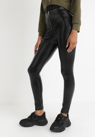 Czarne Spodnie Skinny Theliel