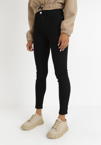 Czarne Spodnie Skinny Marith