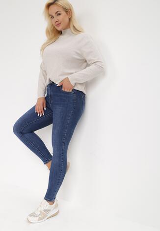 Niebieskie Jeansy Skinny Eatherenna
