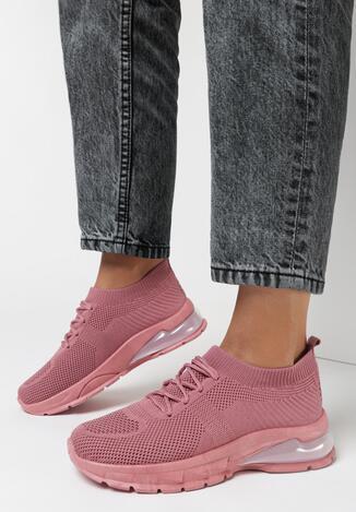 Różowe Buty Sportowe Ephaen