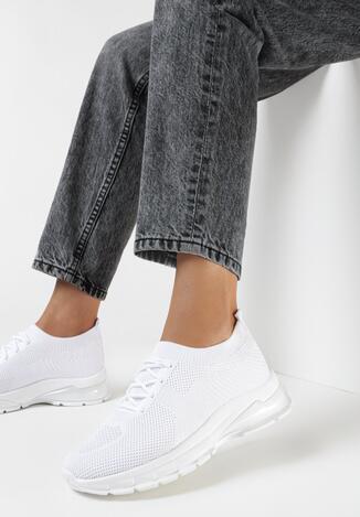 Białe Buty Sportowe Ephaen