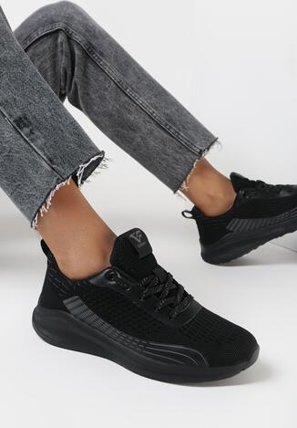 Czarne Buty Sportowe Pisixiope