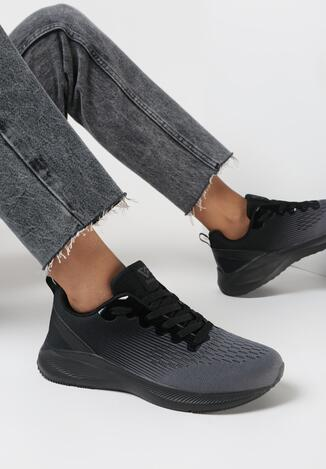 Czarne Buty Sportowe Omniel