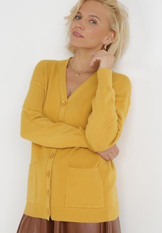 Żółty Kardigan Delice