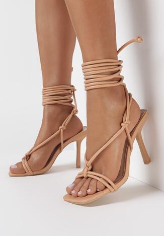 Beżowe Sandały Lamithise