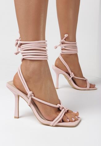 Różowe Sandały Lamithise