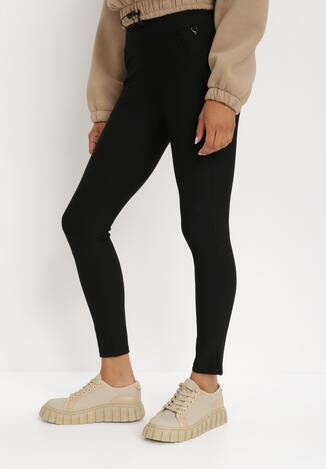 Czarne Spodnie Anima