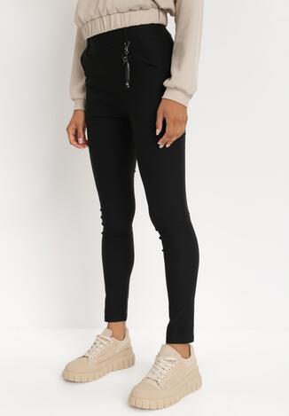 Czarne Spodnie Skinny Marinah