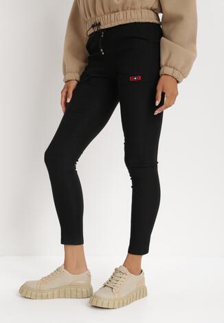 Czarne Spodnie Hithe