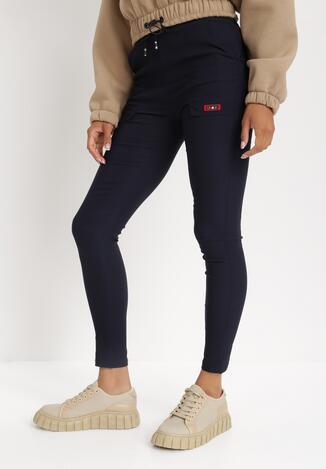 Granatowe Spodnie Hithe