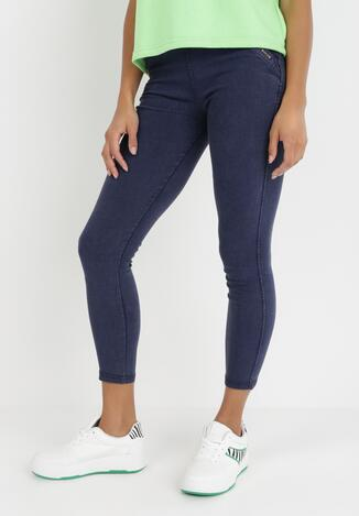 Granatowe Spodnie Adririnia