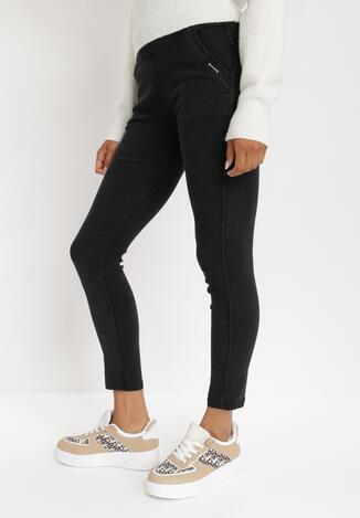 Czarne Spodnie Adririnia