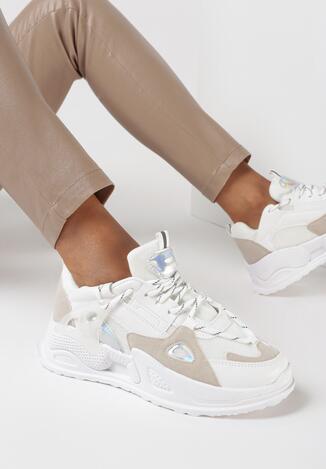 Białe Sneakersy Raella