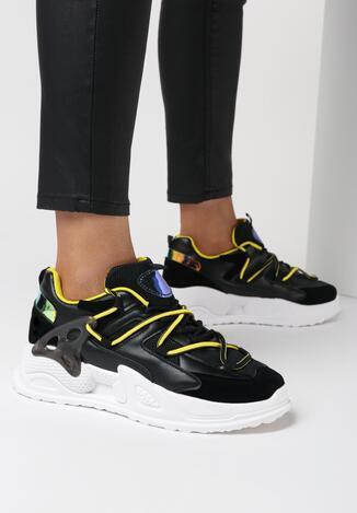 Czarne Sneakersy Maliel