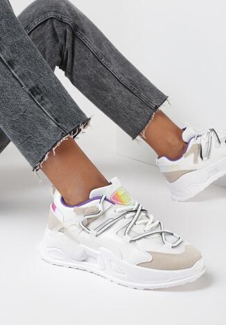 Białe Sneakersy Maliel