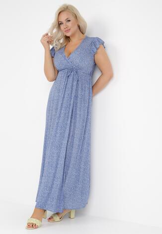 Niebieska Sukienka Jophiel