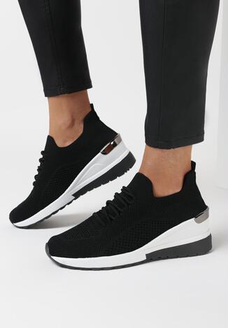 Czarne Sneakersy Sothraoi