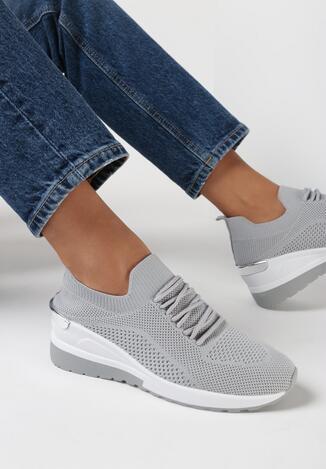Szare Sneakersy Sothraoi