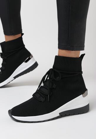 Czarne Sneakersy Eremiel